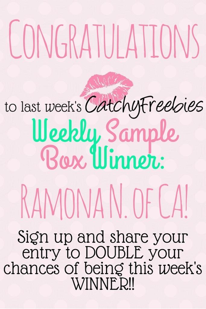 weekly giveaway winner PINT