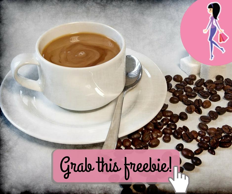 Catchy freebie template coffee 1