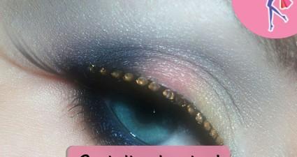 Catchy freebie template eye makeup