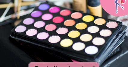 Catchy freebie template makeup