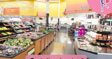 Catchy freebie template supermarket