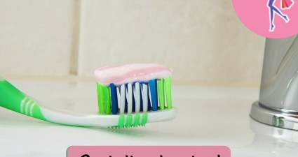 Catchy freebie template toothpaste