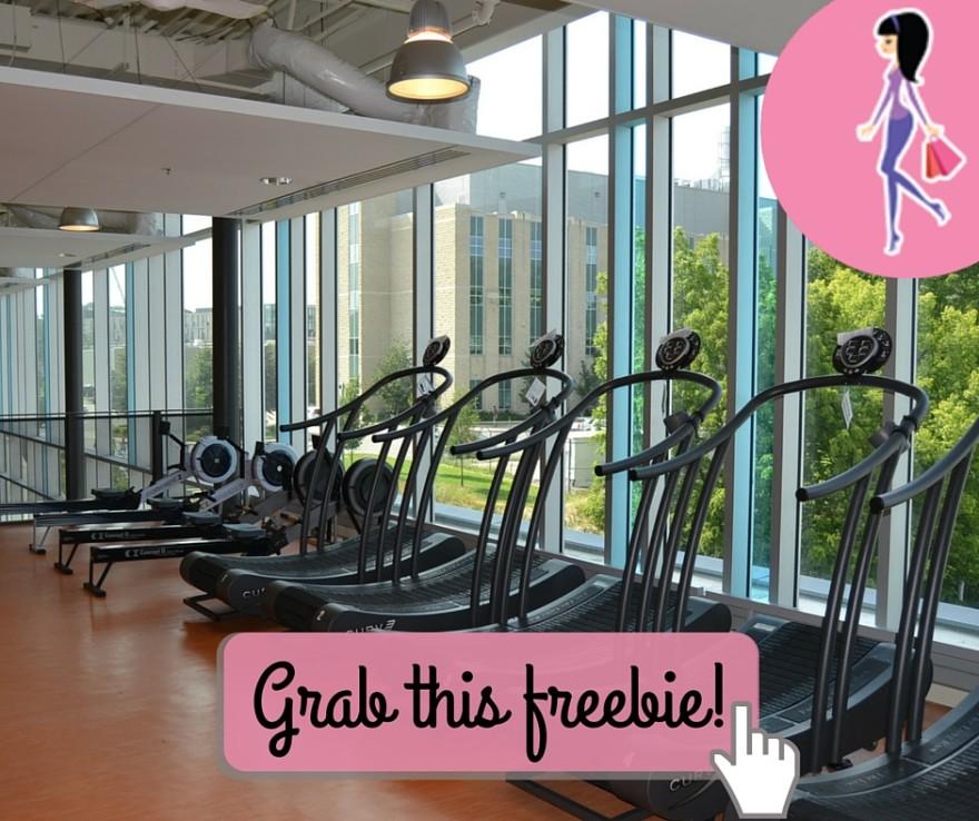 Catchy freebie template gym 2