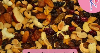 Catchy freebie template trail mix
