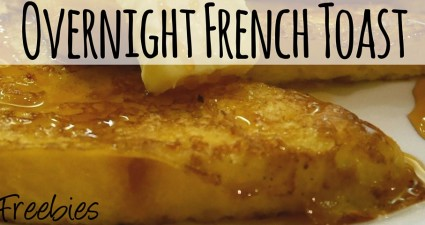 scrumptious saturday overnight french toast