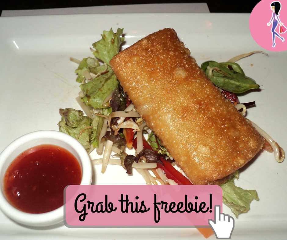 Catchy freebie template eggroll