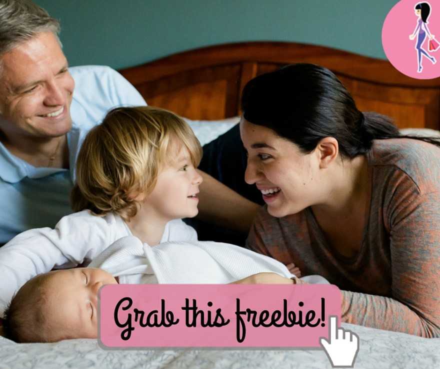 Catchy freebie template family