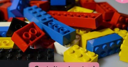 Catchy freebie template lego