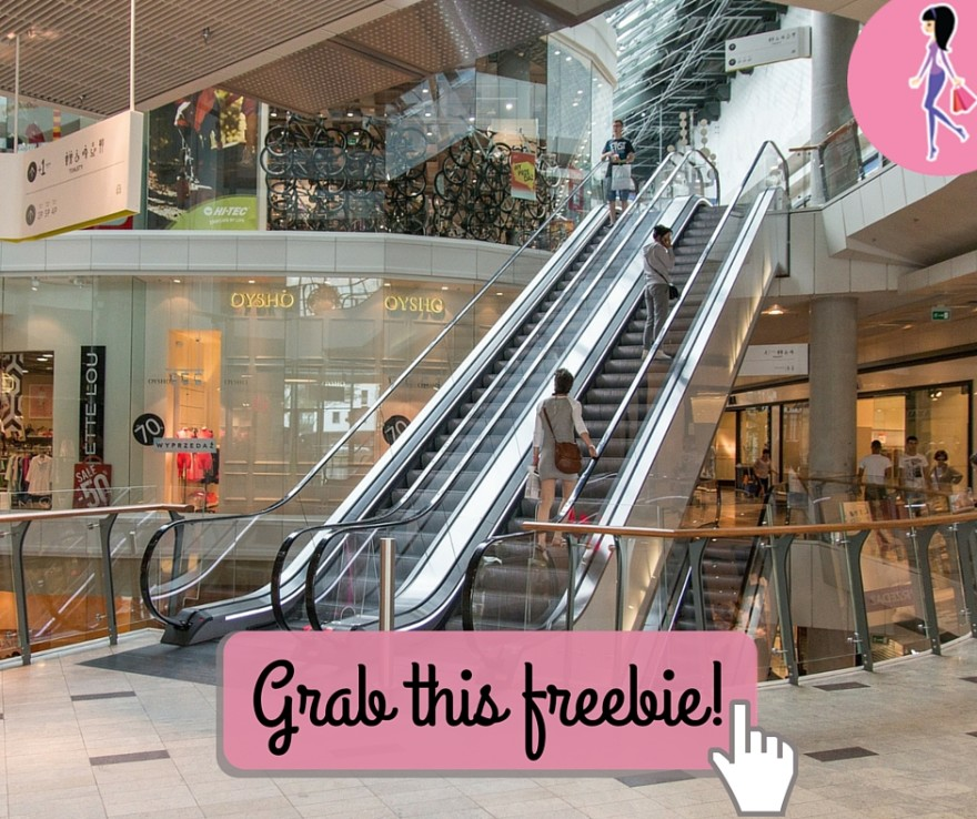 Catchy freebie template mall