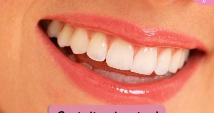 Catchy freebie template teeth