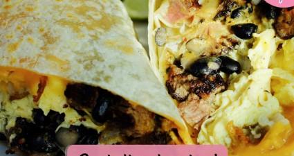 Catchy freebie template burrito