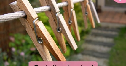 Catchy freebie template clothespins