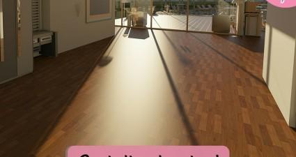 Catchy freebie template floor
