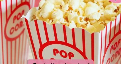 Catchy freebie template movie popcorn