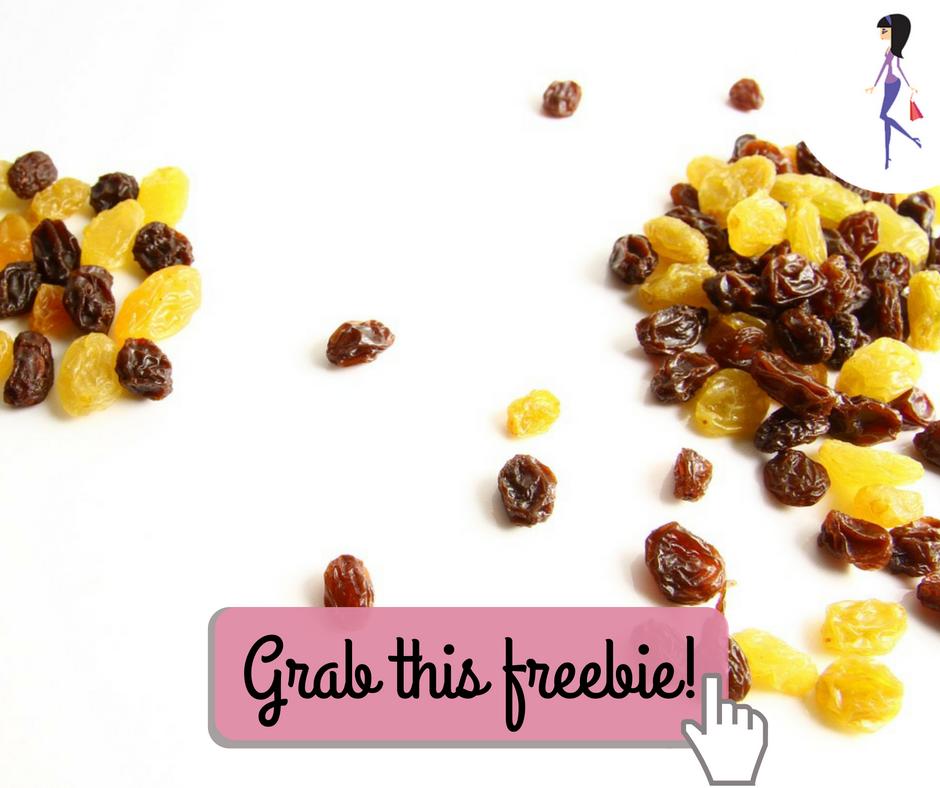 Free Sun-Maid Raisins Recipe Book