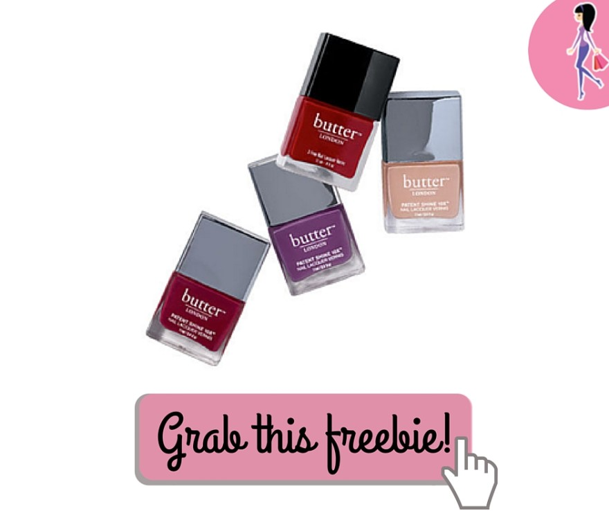 Butter London Nail Polish Discount - TODAY ONLY! -CatchyFreebies