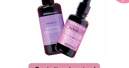 half off dermadoctor kakadu c cleanser and serum skincare facial face cleanser dermatologist recommended skin products discount catchyfreebies