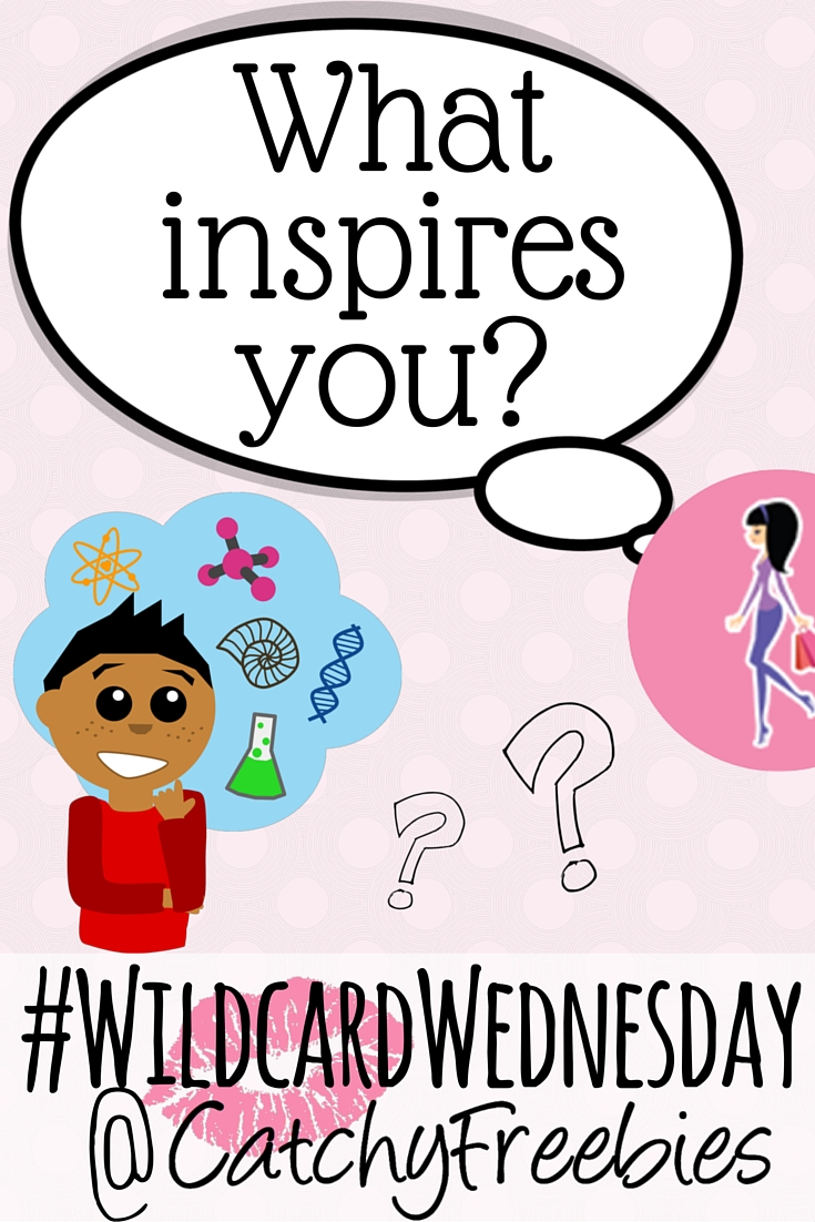 what inspires you inspiring inspo inspiration wildcardwednesday giveaway catchyfreebies pint
