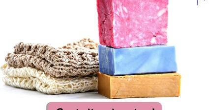 Catchy freebie template bar soap