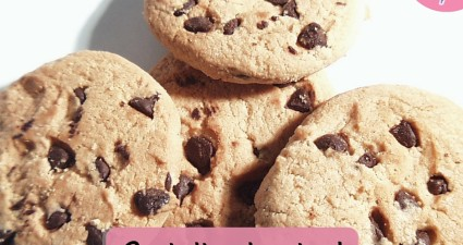 Catchy freebie template choc chip