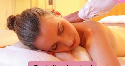 Catchy freebie template massage