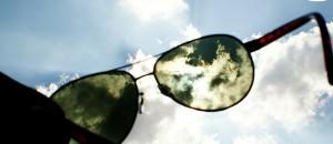 Catchy freebie template sunglasses