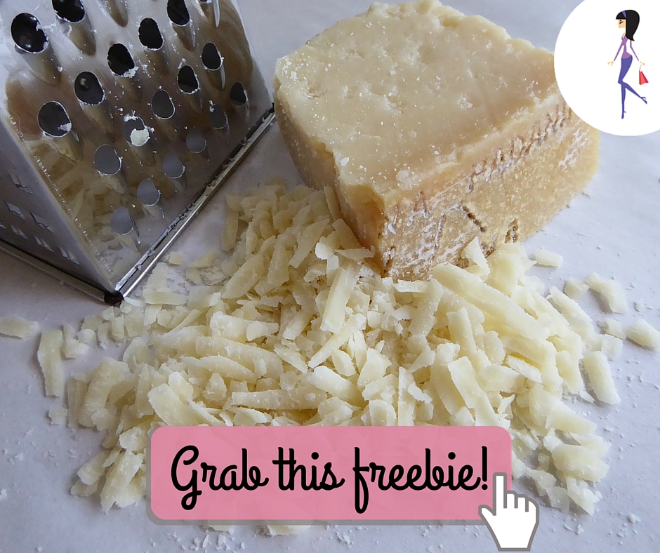 CatchyFreebies sample cheese