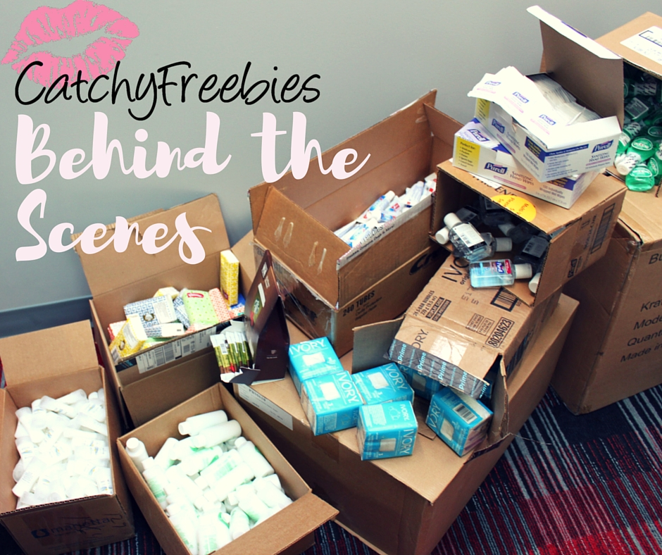 Behind the Scenes at CatchyFreebies! -CatchyFreebies