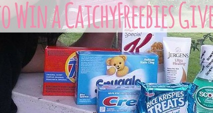 behind the scenes catchyfreebies how to win a giveaway samples