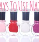 9 New Ways To Use Nail Polish