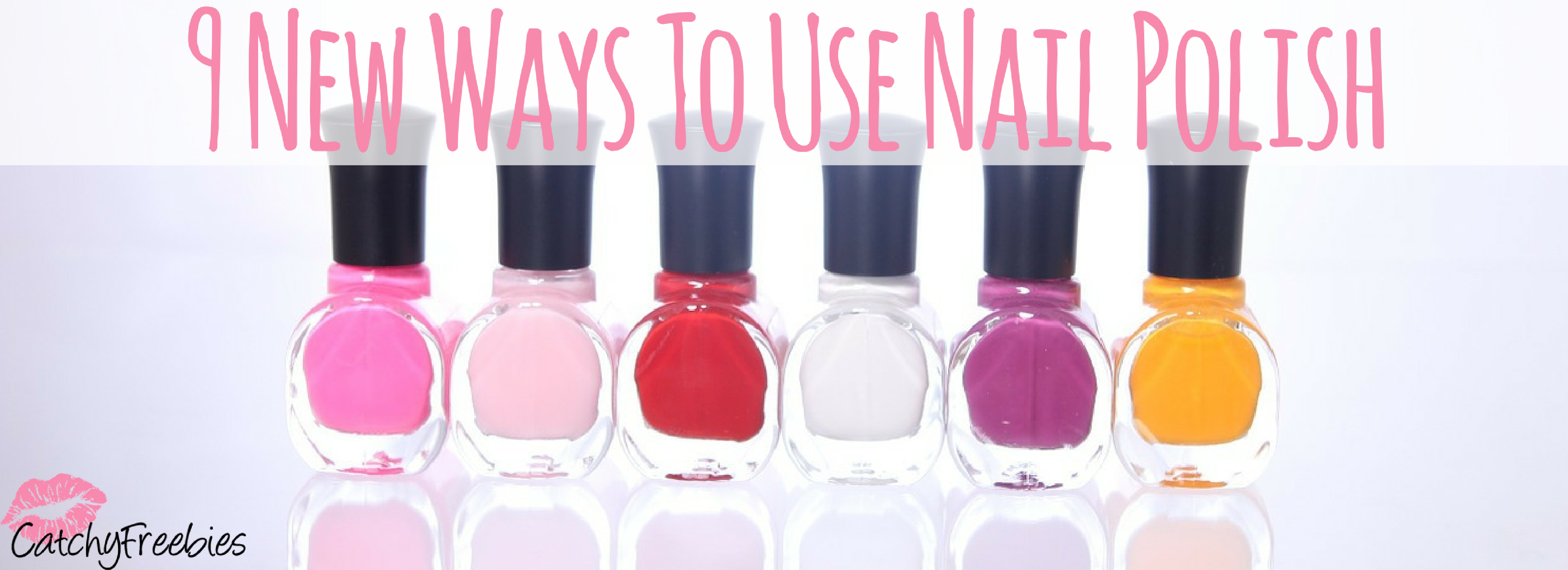 9 New Ways To Use Nail Polish