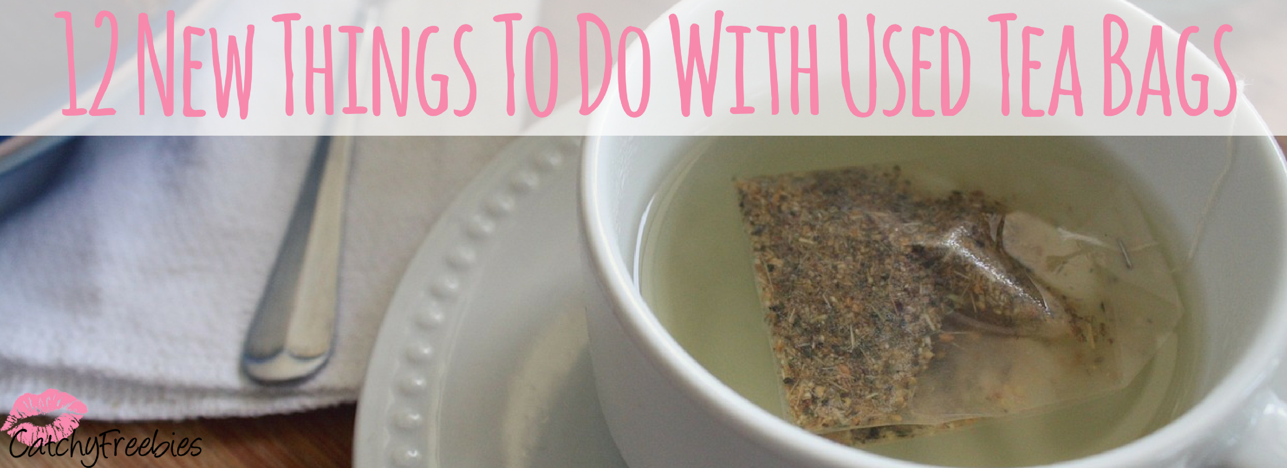 12 New Things To Do With Used Tea Bags