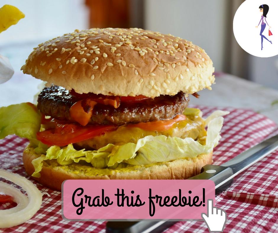 Free Burger Patty Form