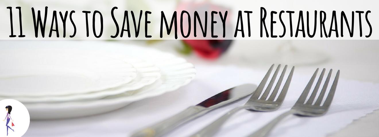 11 Ways to Save Money at Restaurants
