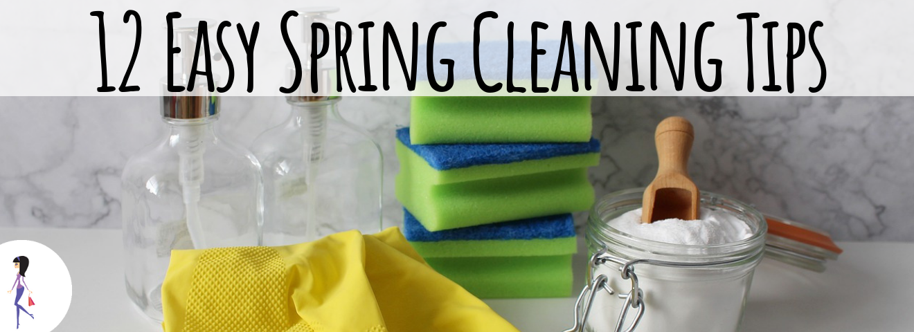12 Easy Spring Cleaning Tips
