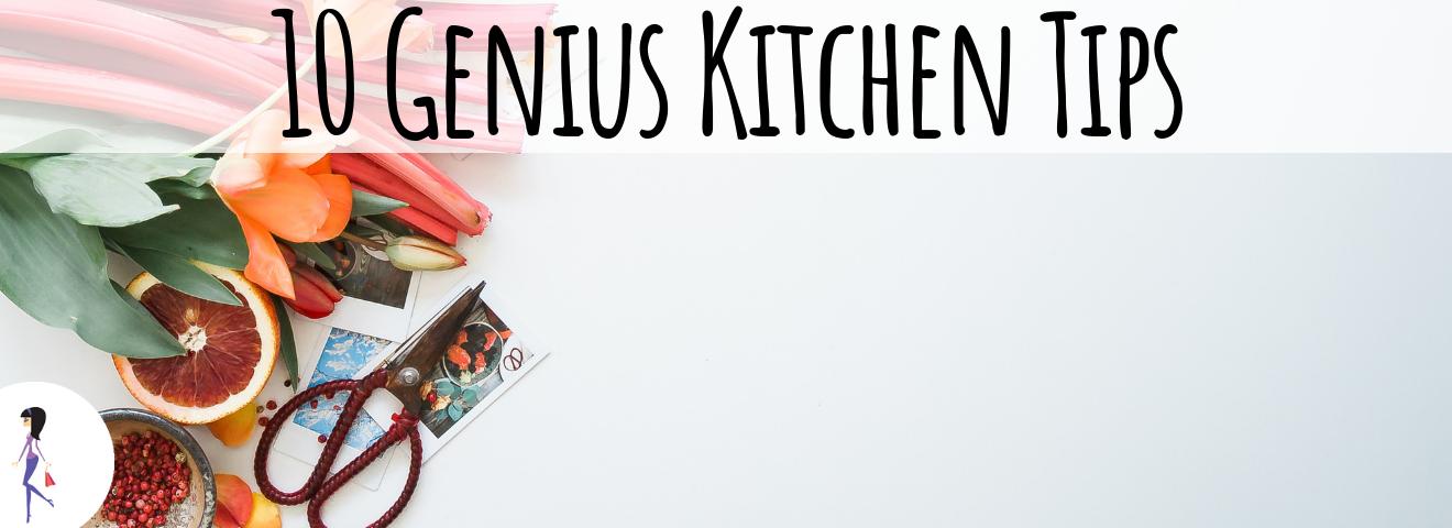 10 Genius Kitchen Tips
