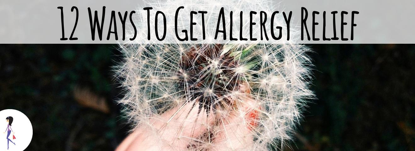 12 Ways to Get Allergy Relief