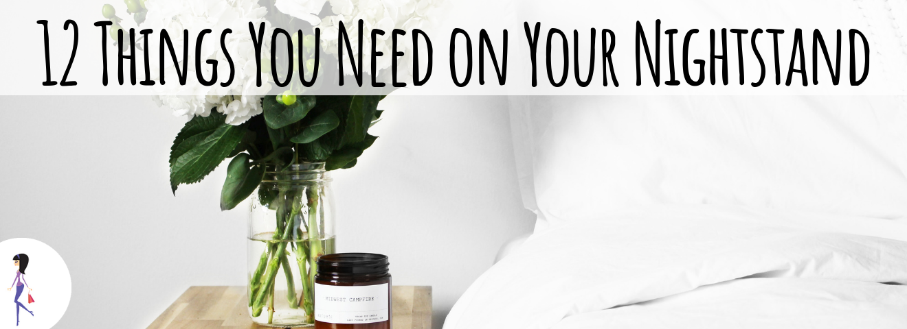 13 Things You Need on Your Nightstand