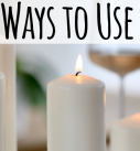 12 Cool Ways To Use Candles