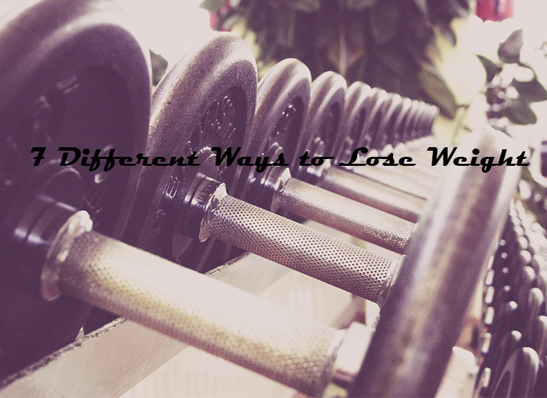 7 Different Ways to Lose Weight