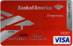 how to change debit card address bank of america